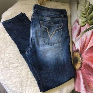 VIGOSS The Chelsea Skinny dark blue jeans size 30